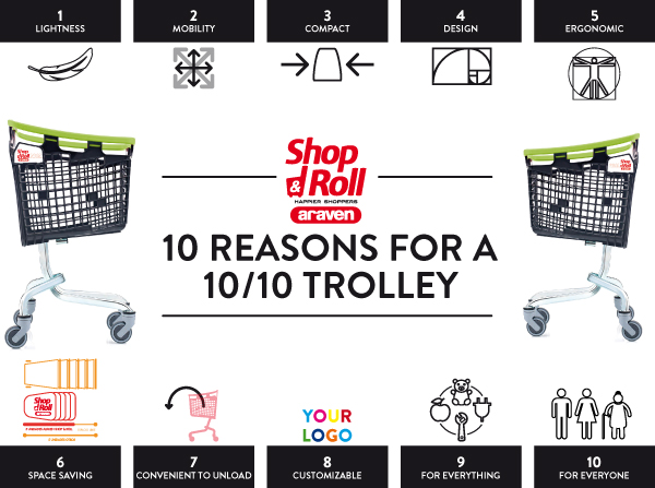 Araven 10 tips to choose the best shopping trolley