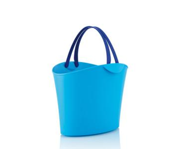 Basket 6 L. Light Blue / 2 dark blue handles