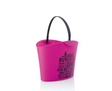 Basket 6 L. Magenta / 1 black handle