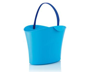 Basket 15 L. Light Blue / 1 handle