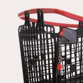 Coin Locking system shopping trolleys araven