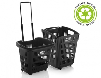 Araven recycled shopping baskets