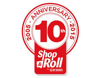 shop & roll 10 aniversario