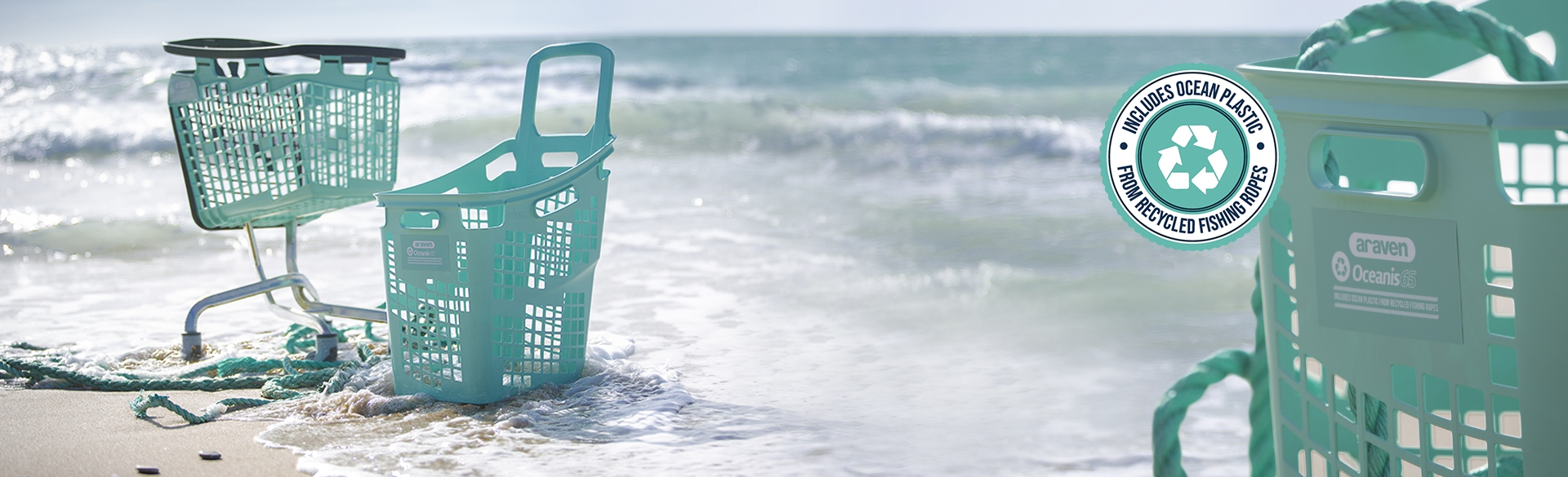 Baskets and carts for sustainable brands