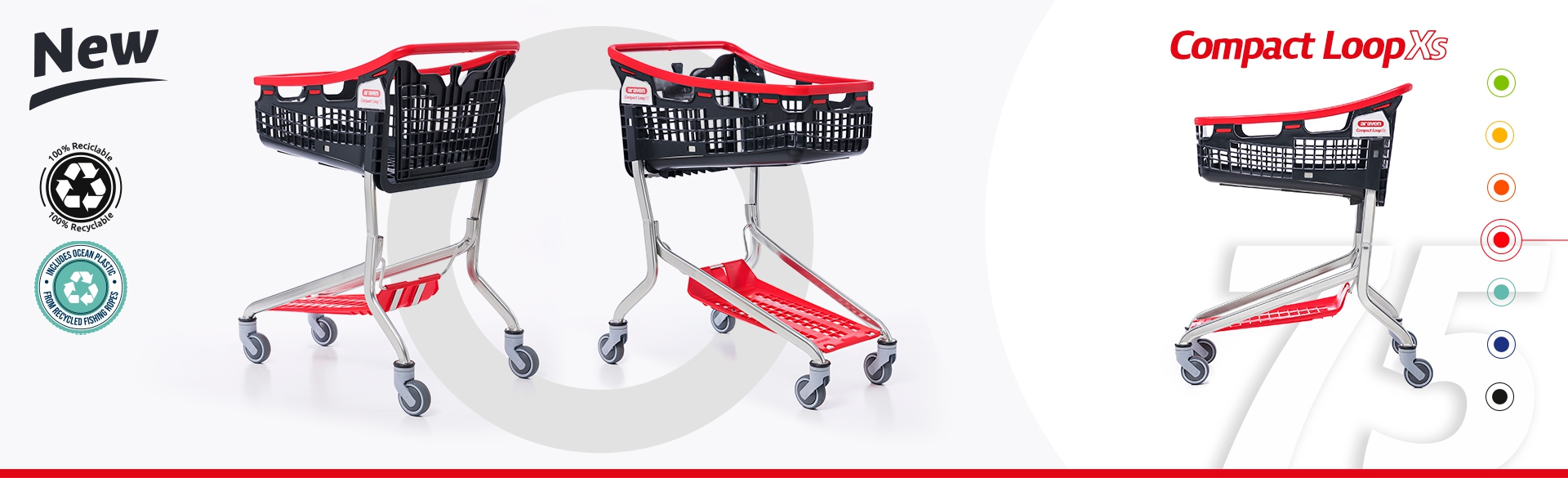 New Shopping Cart Compact Loop XS